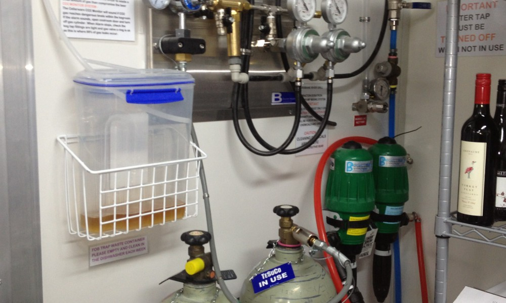 Gas Regulators and Washout System